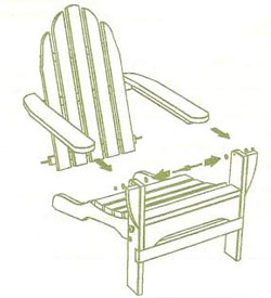 How to Assemble Your Cedar Adirondack Chair
