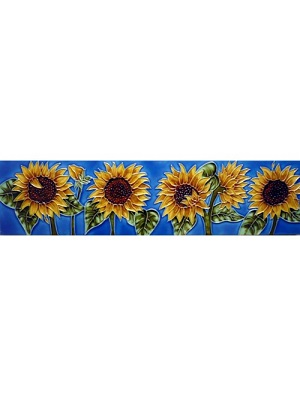 Horizontal Sunflower Tile #MD-058