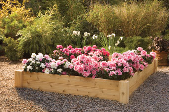 Ordinaire Raised Beds, Cedar Style, For A Durable Garden Fixture And Great Gardening  Results